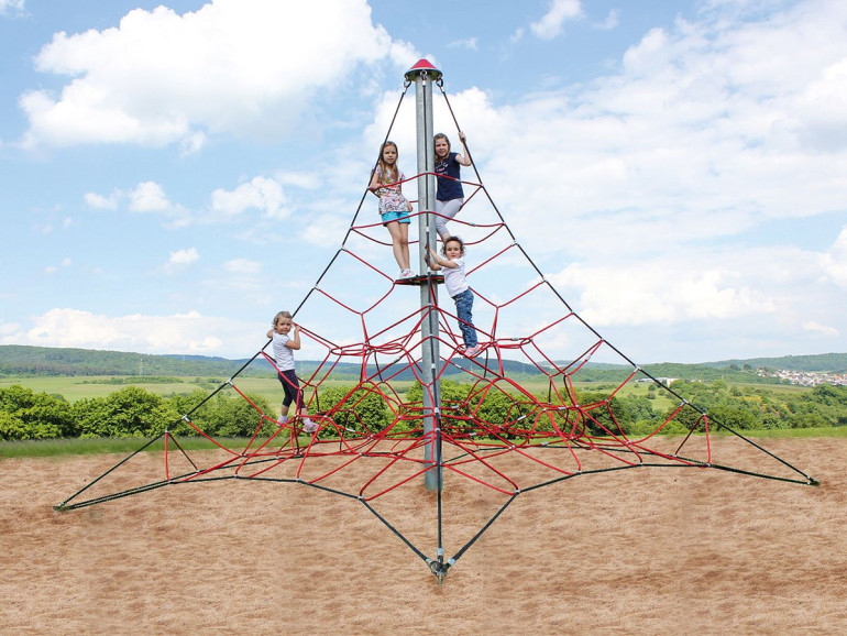 Spider 4 Rope Pyramid